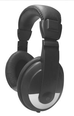 Avid Automatic Sound Limiting Headphone: Model # SM-25