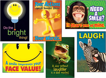 Attitude & Smiles Combo Sets Argus Posters
