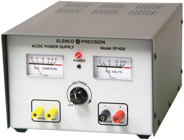 Elenco AC/DC Power Supply - Educational Kits Online ...