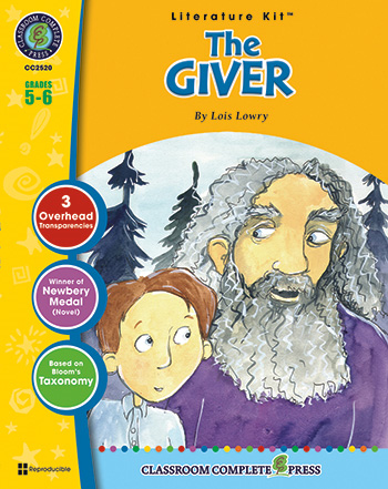 The Giver Literature Kit: Grades 5-6
