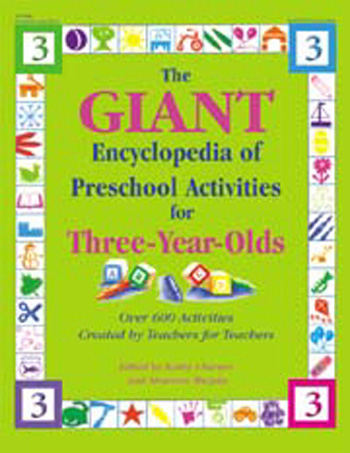 Giant Encyclopedia Preschool Activities for 3 Year Olds