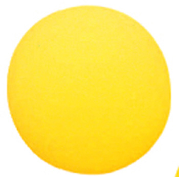 Foam Ball 7 Uncoated Yellow