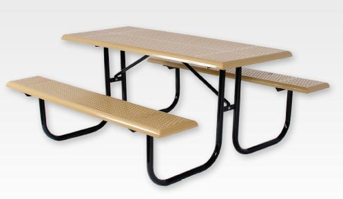 SportsPlay Standard Rectangular Picnic Table Playground Tables - Walk in picnic table