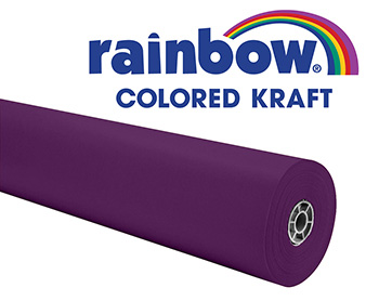 Purple 36x1000 Rainbow Kraft Roll