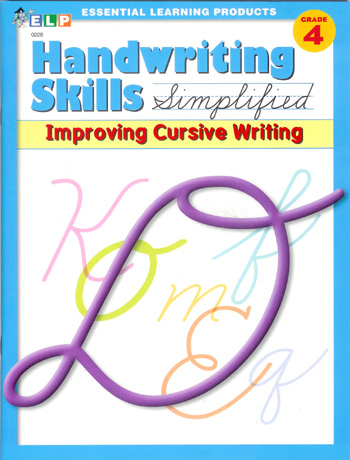 Handwriting Skills Simplified Improving Cursive