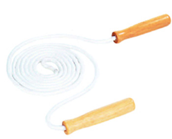 Jump Rope Cotton 8wood Handle