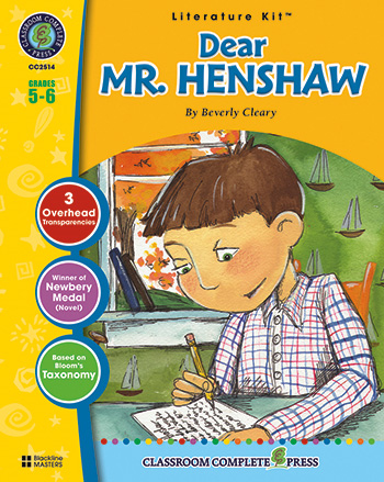 Dear Mr. Henshaw Literature Kit: Grades 5-6