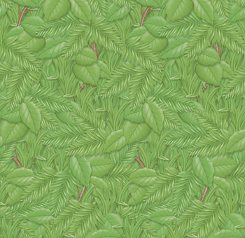Fadeless 48x12 Tropical Foliage 4rl Per Carton