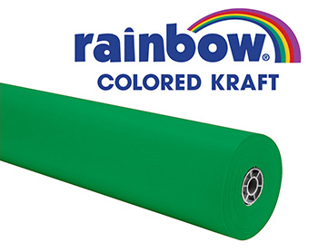 Rainbow Kraft 100ft Brite Green