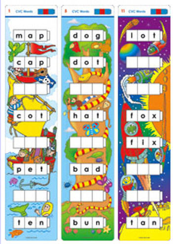 Unifix Word Ladders Cvc Words