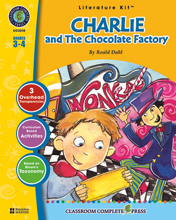 Charlie and the Chocolate Factory Literature Kit: Grades 3-4