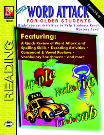 Word Attack For Older Students