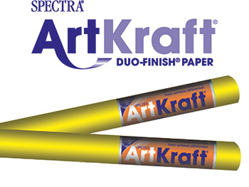 Art Kraft Roll 48 X 200 Canary