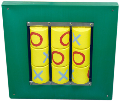 Anatex Busy Cube: Tic Tac Toe Wall Panel
