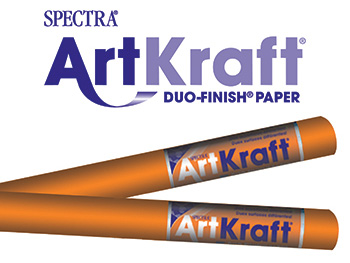 Art Kraft Roll 48 X 200 Orange