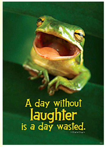 Poster A Day W/out Laughter Is A Day Wasted Charlie Chaplin Argus