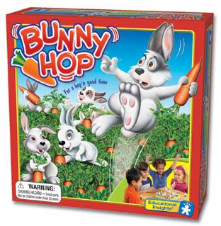 how to teach children a bunny hop