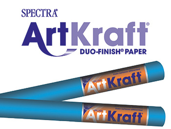 Art Kraft Roll 48x200 Brite Blue