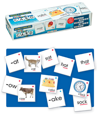 Word Families Card Set