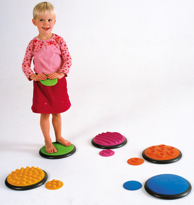 Gonge Tactile Disc: Set of 10