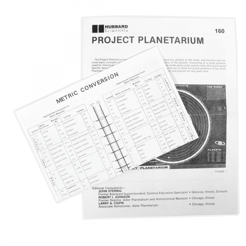 Scott Resources & Hubbard Scientific: Individual Project Planetarium
