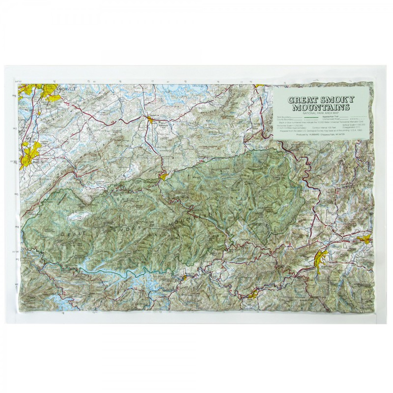 American Education Great Smoky Mountain National Park: Black Frame