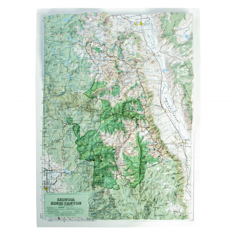 American Education Sequoia-Kings Canyon National Park: Wood Frame
