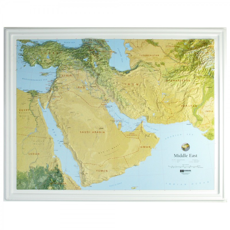 American Education Middle East: Black Frame