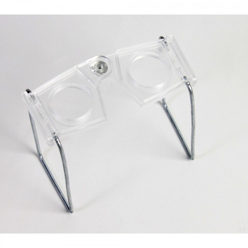 Scott Resources & Hubbard Scientific Stereoscopes Glass: Set of 10