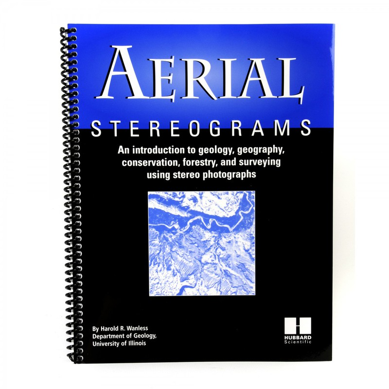 Scott Resources & Hubbard Scientific Aerial Stereogram Photographs Book: Individual