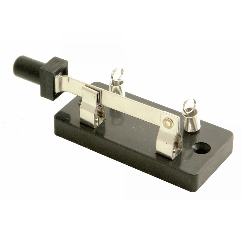 Ginsberg Knife Switch with Spring Type Binding Posts: Single Pole, Single Throw