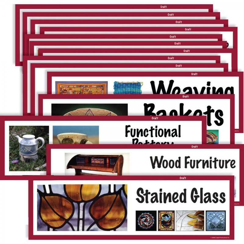 American Educational Art Display Cards-Craft