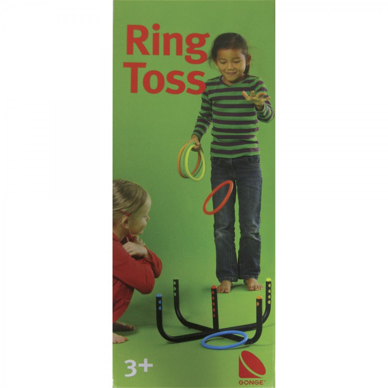 Gonge Ring Toss with 6 Rings