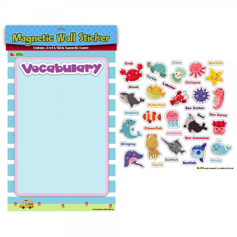 American Educational Magnetic Wall Stickers: Marine Life