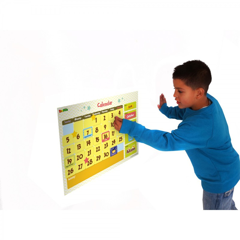 American Educational Magnetic Wall Sticker: Calendar