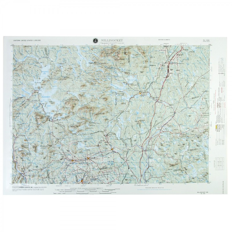 American Education Millinocket: Black Frame