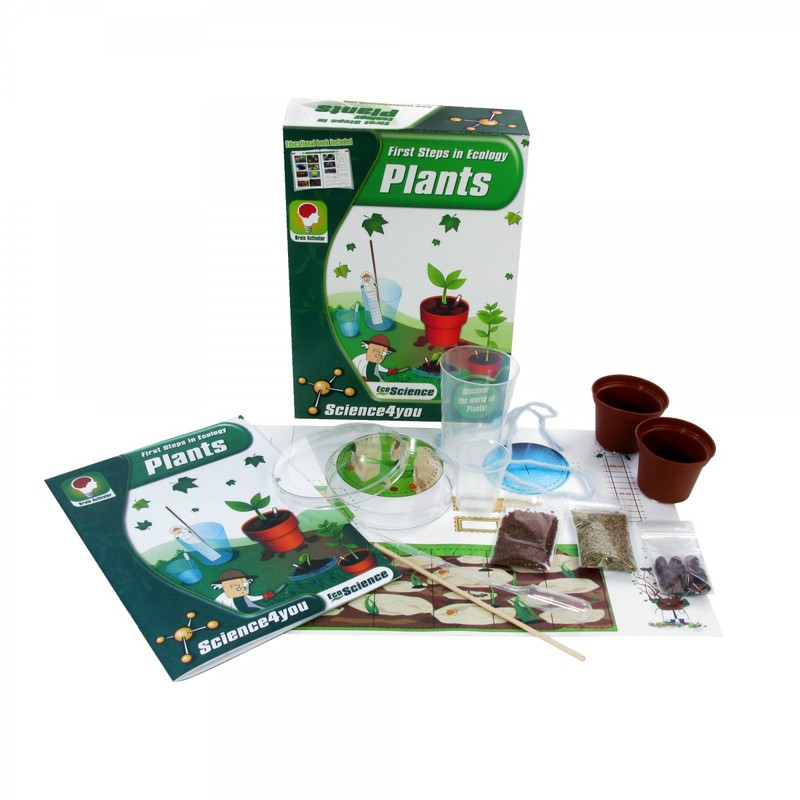 American Education Science4You First Steps in Ecology: Plants