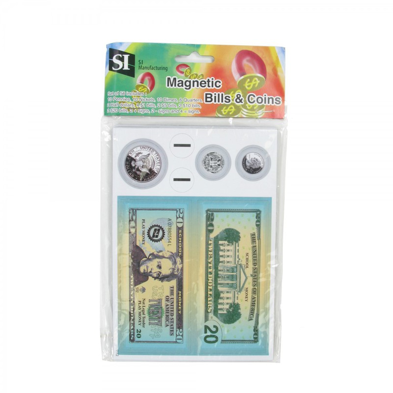 American Educational Magnetic Coin & Bill Set