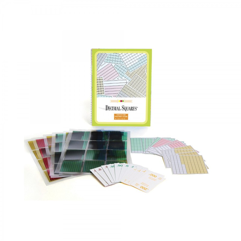 Scott Resources & Hubbard Scientific Decimal Squares: Starter Set
