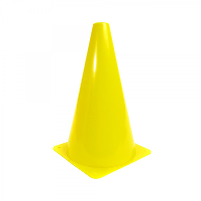 American Education Plastic Cones: 9 Inch, Yellow