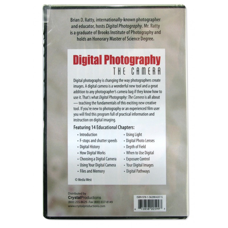 American Educational Digital Photography The Camera