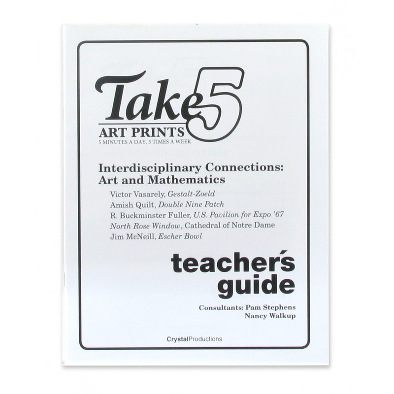American Educational Take 5-Interdisciplinary/Art & Mathemati