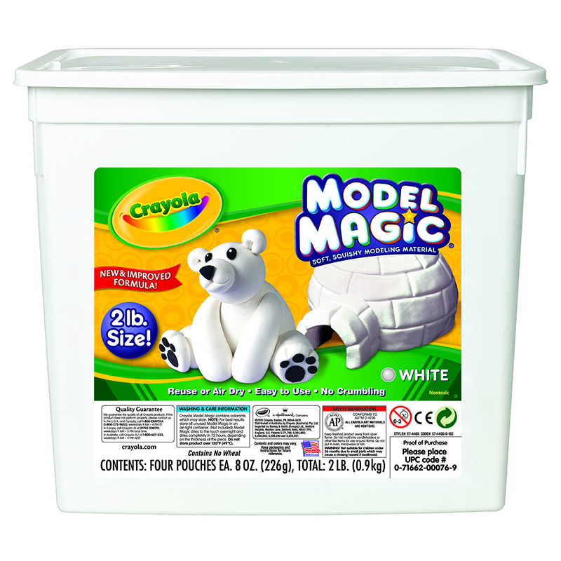 Crayola Crayola 2lb Resealable Bucket Model Magic Modeling Compound