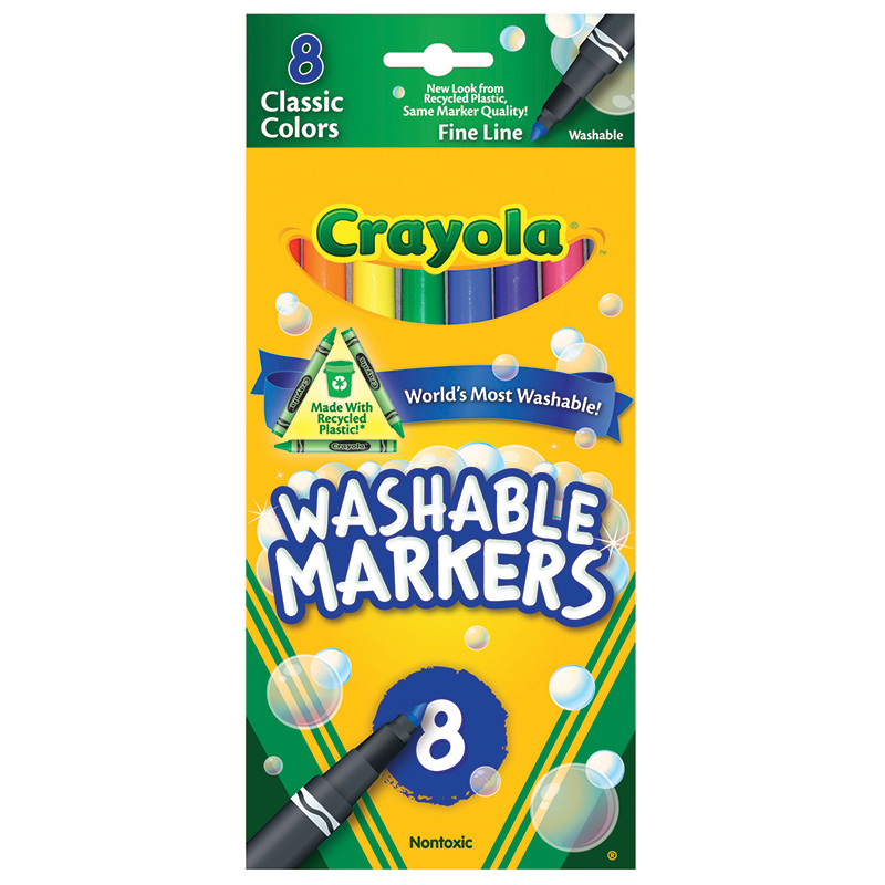 Crayola Washable Drawing Marker 8 Colors