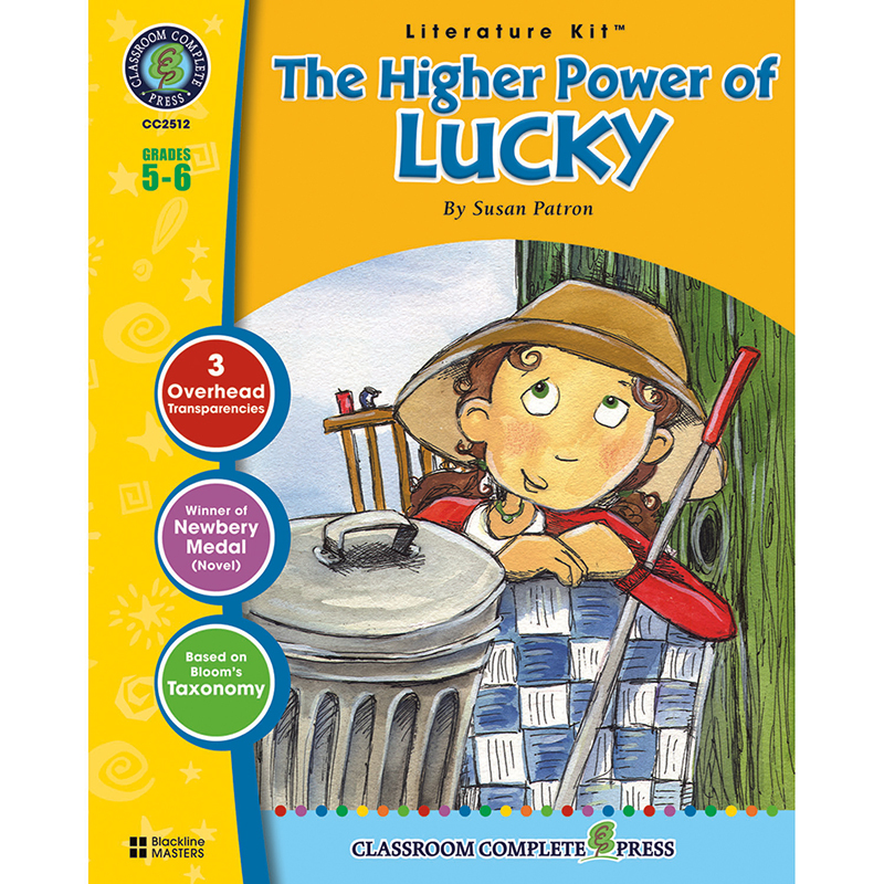 The Higher Power of Lucky Literature Kit: Grades 5-6