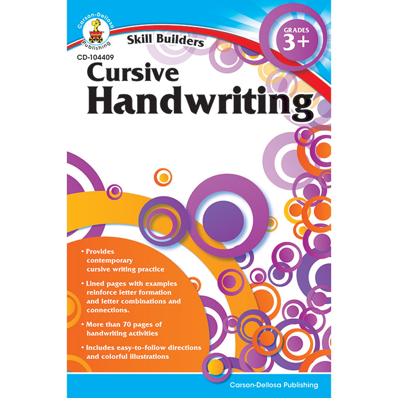 Skill Builders Cursive Handwriting