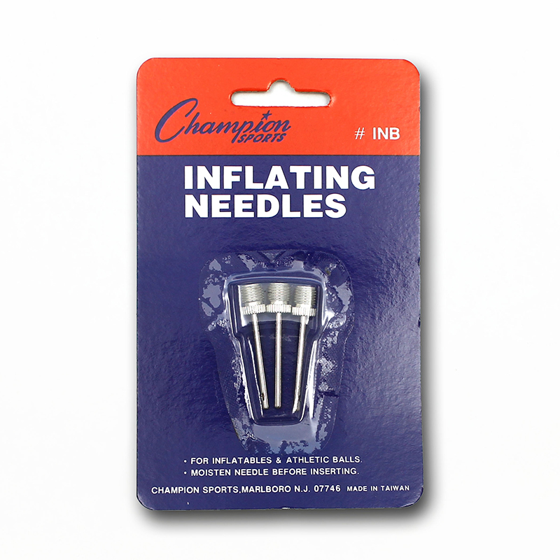 Inflating Needles