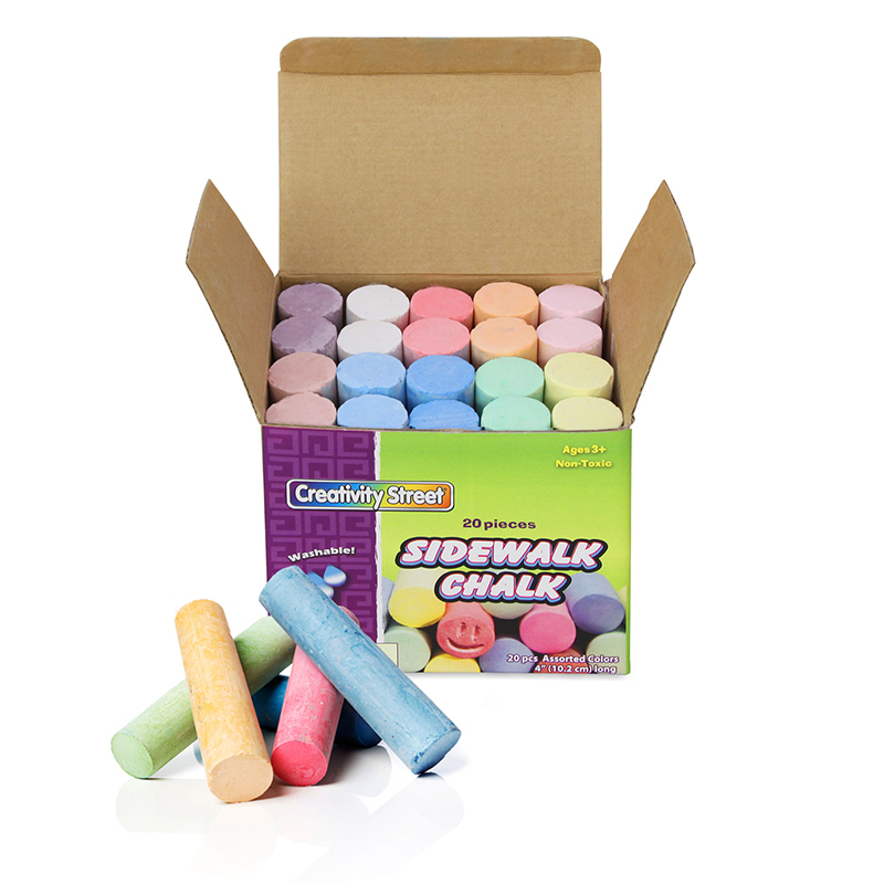 Creativity Street® Sidewalk Chalk 20 Pieces