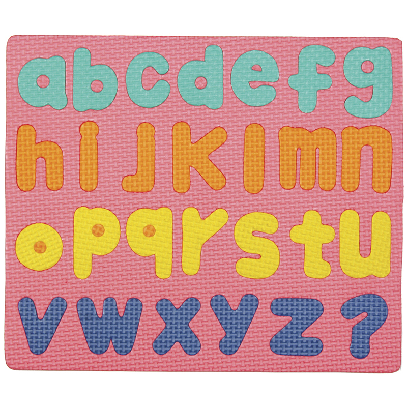 Wonderfoam Magnetic Lower Case Letters Puzzle Set
