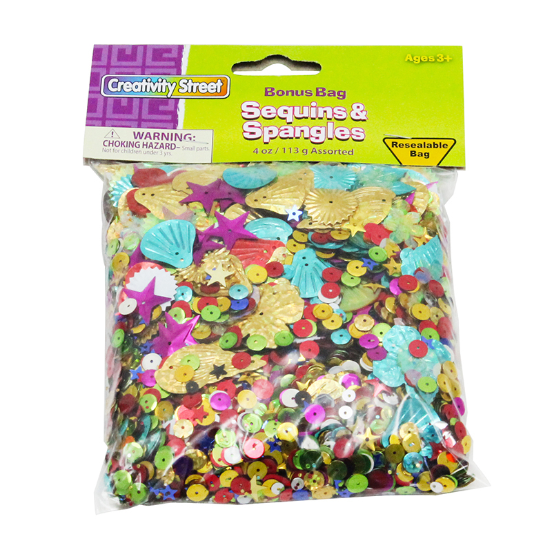 Creativity Street® Sequins & Spangles 4 Oz.